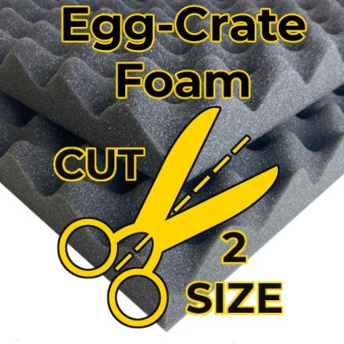 Polyurethane Egg-crate Cut-to-Size