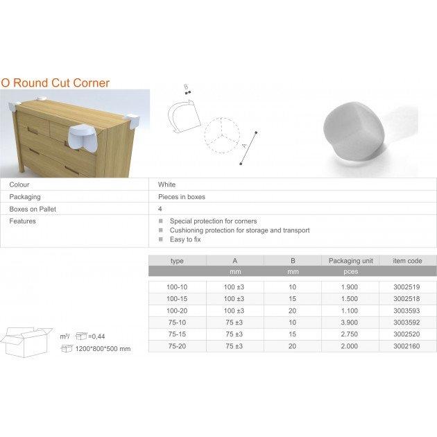 O Round Cut Corner